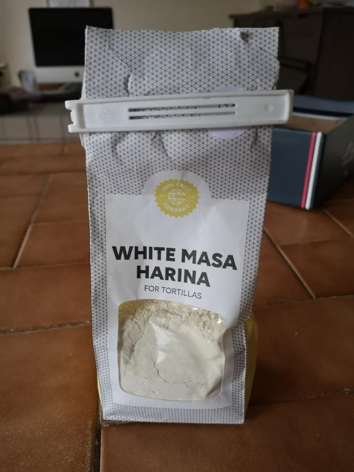 White Masa Harina.