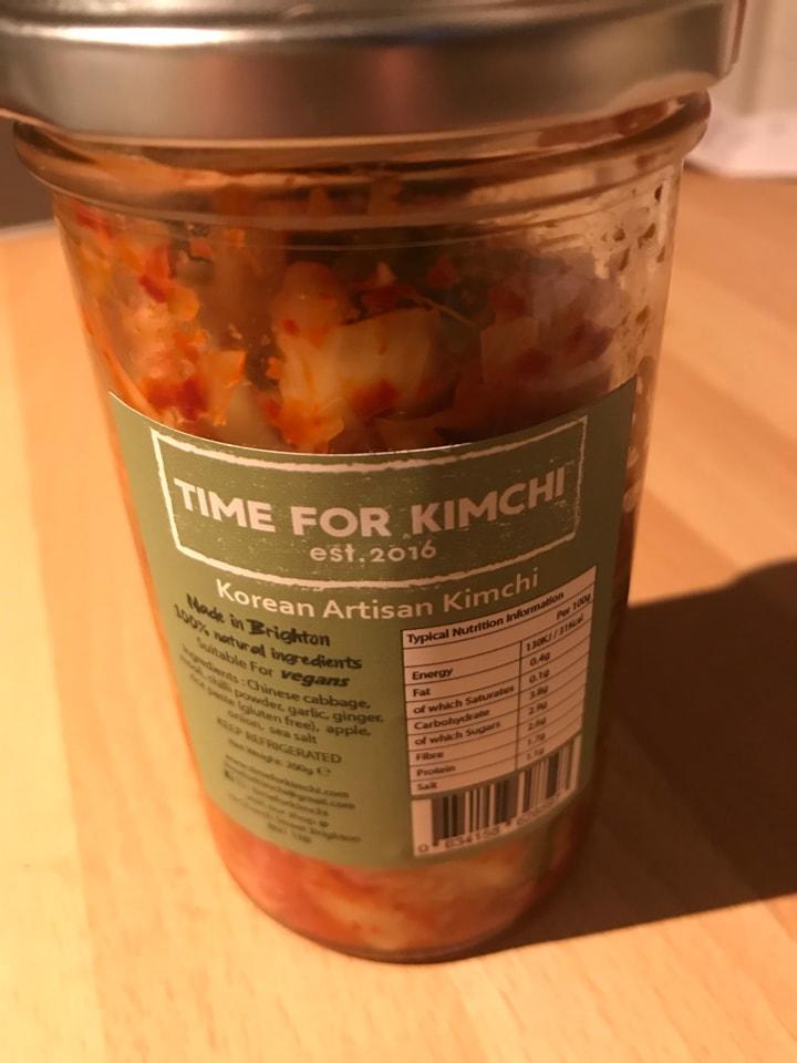 Kimchi opened on Monday,vegan obvs