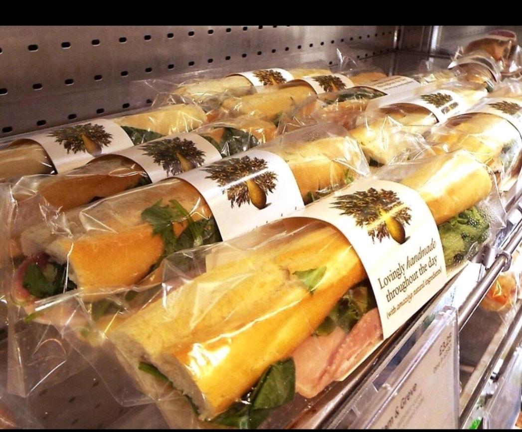 Pret A Manager Baguette - Greek chicken Salad Baguette