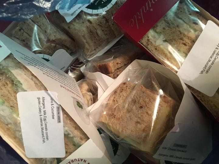 Pret a manager sandwiches mixed