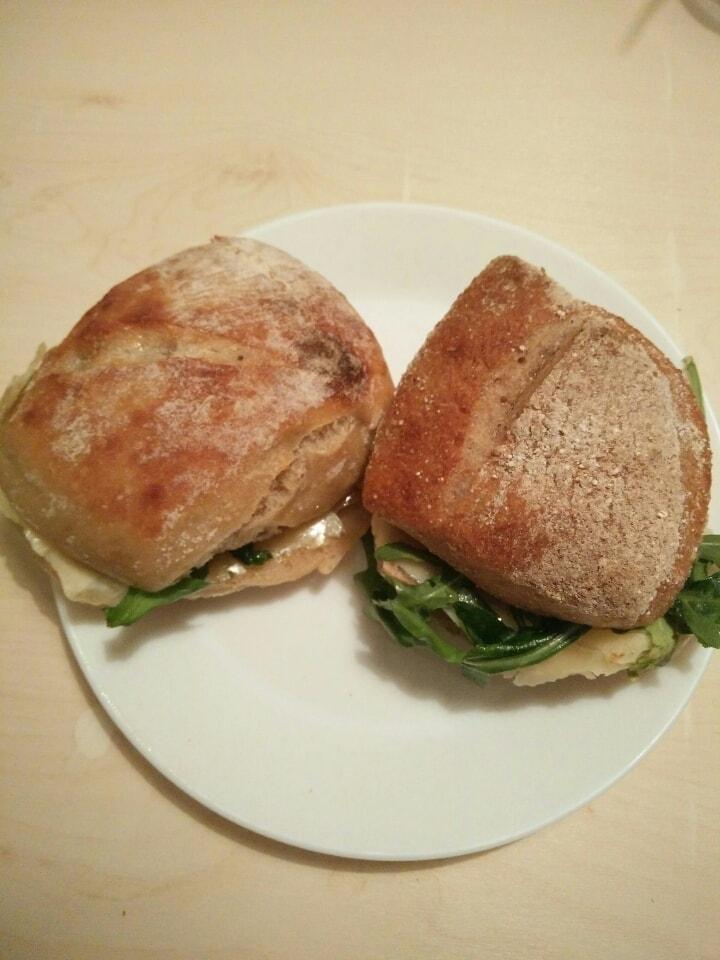 Fresh sandwiches from Il Café