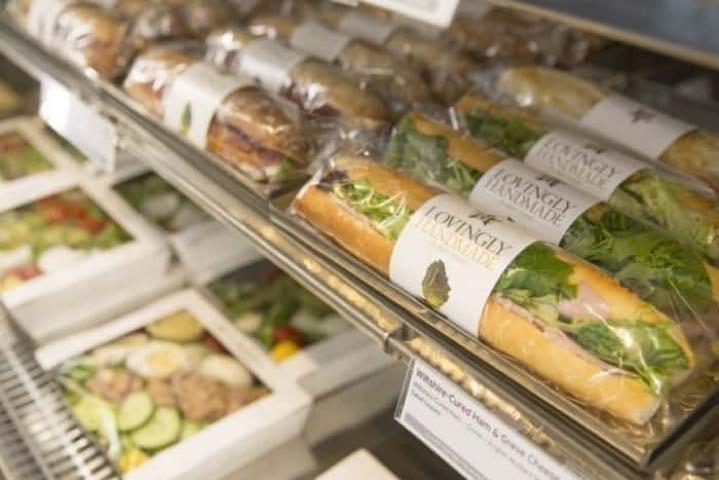 Pret - baguettes and sandwiches