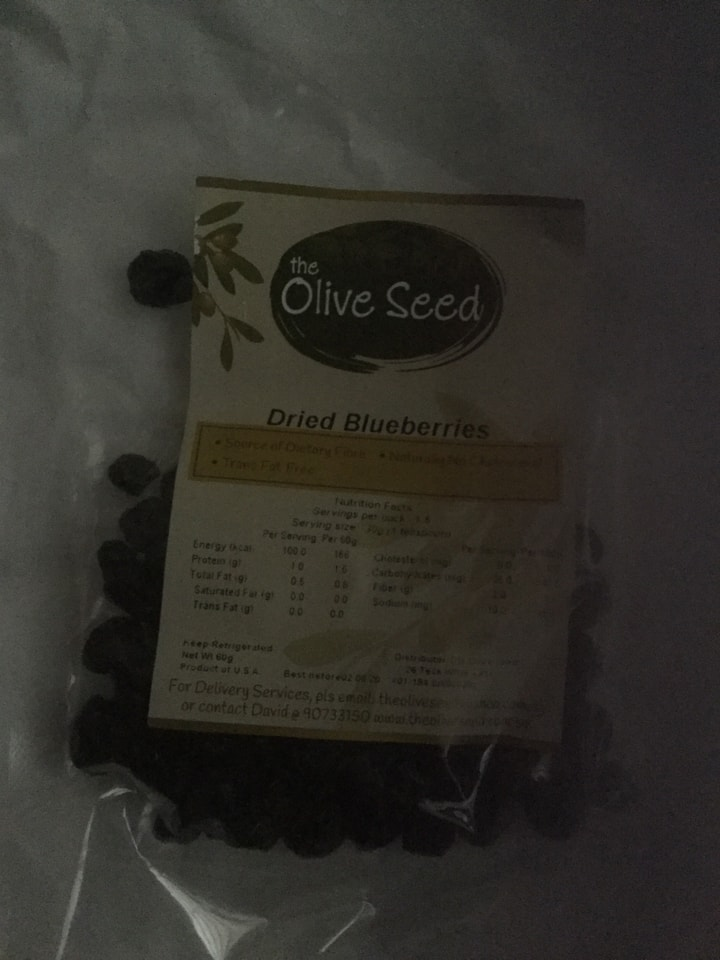 Possibly Expired Dried Blueberries