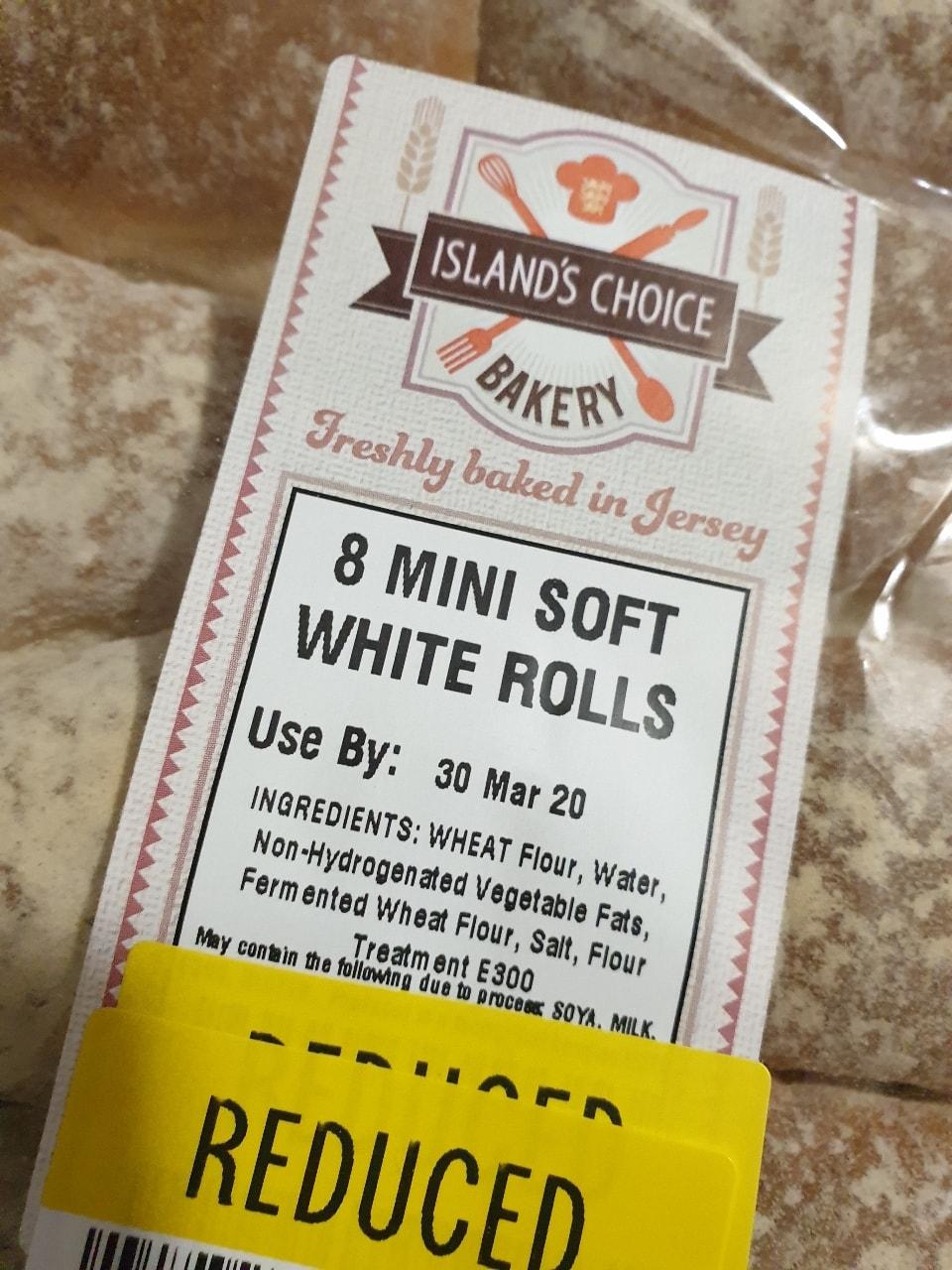 Soft White Rolls