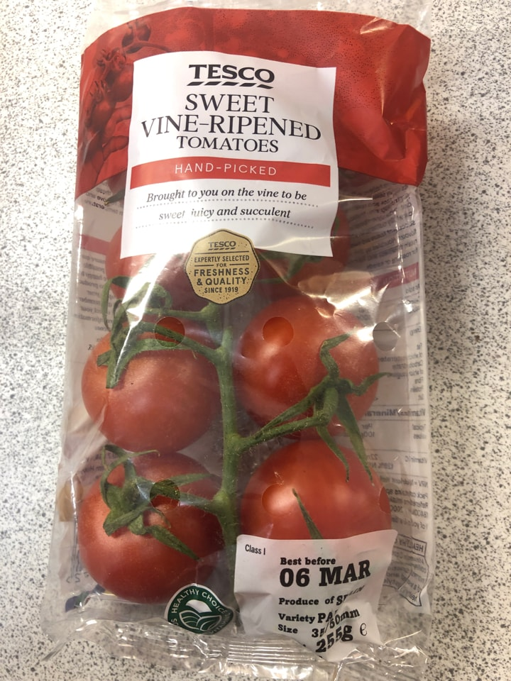 Sweet vine-ripened tomatoes