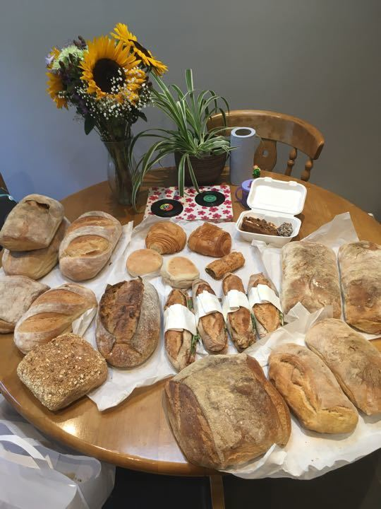 Loaves and loaves of bread
