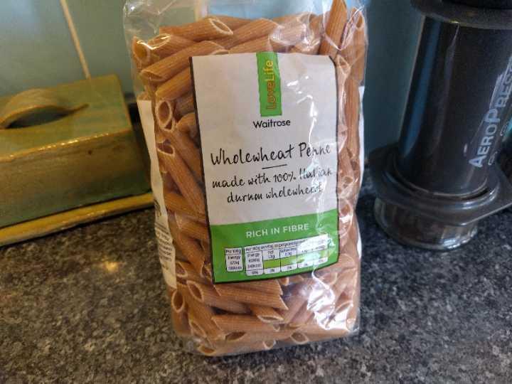 Wholewheat pasta
