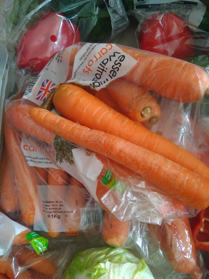 Carrots from challenge