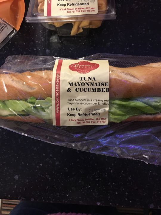 Tuna mayo baguette