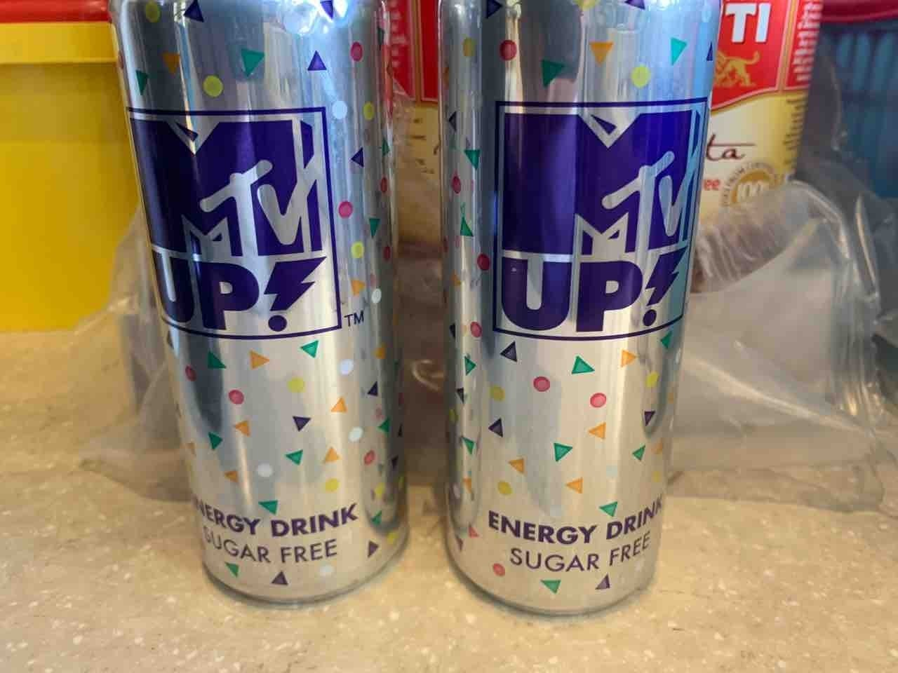 MTV up energy drink 250ml x2 cans