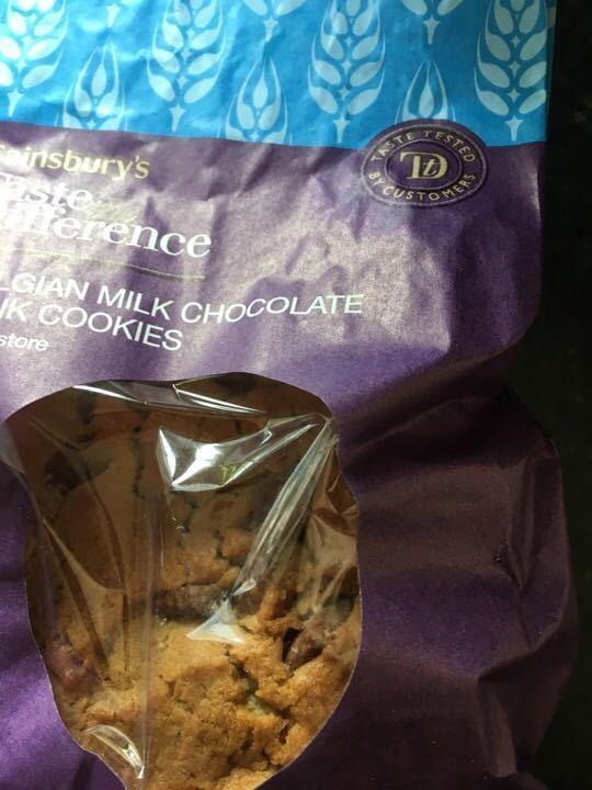 Belgian milk cookies