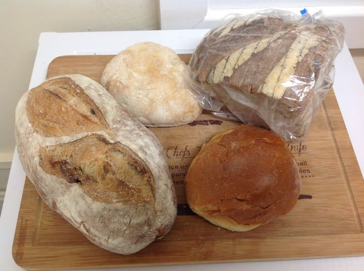 Fresh artisan bread