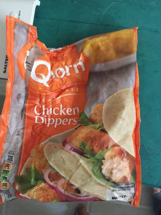Quorn chicken style poppers