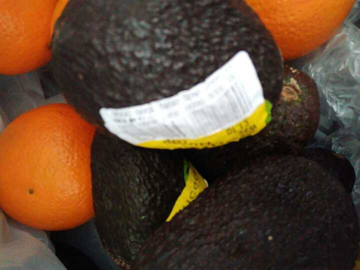 Very very ripe avocados