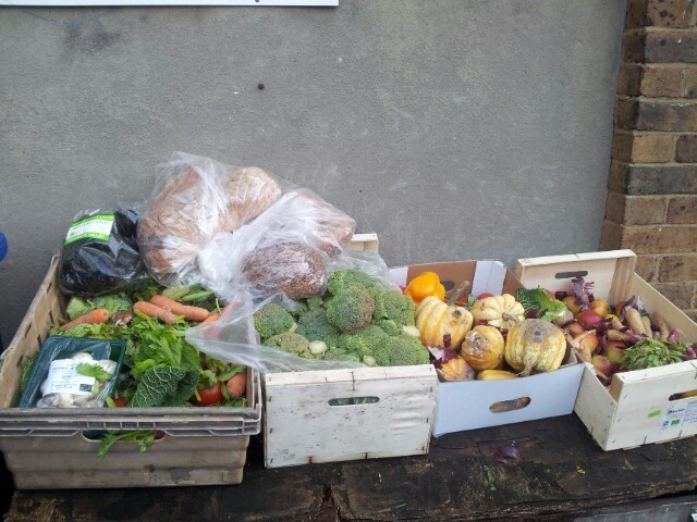 Leftover items from organic shop