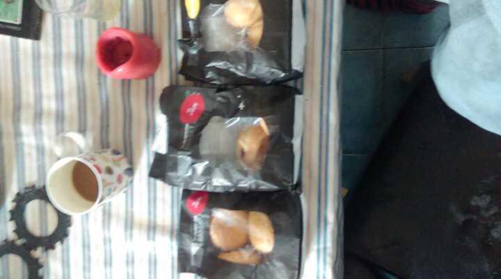 11 custard and jam doughnuts