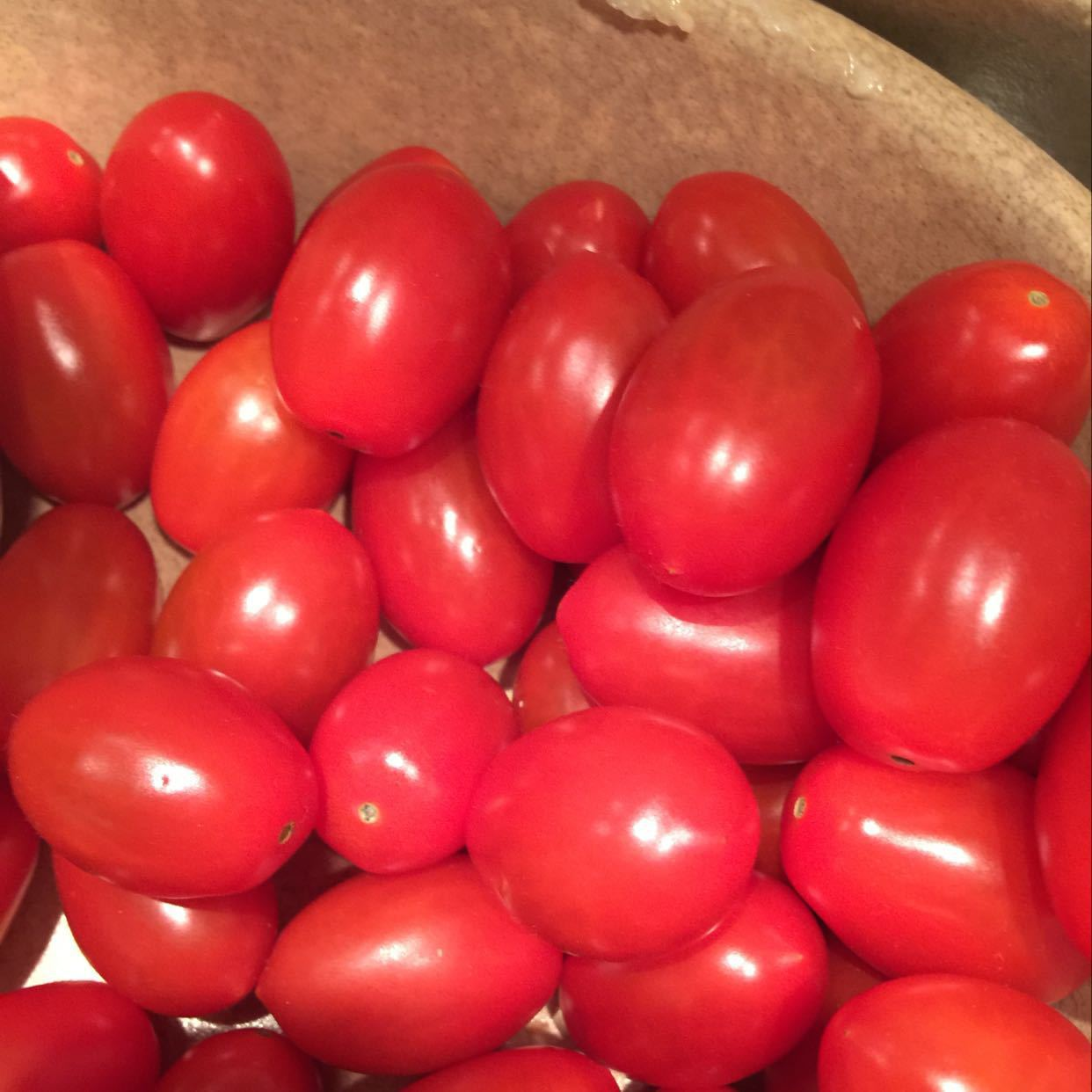 Two packs of cherry tomatoes