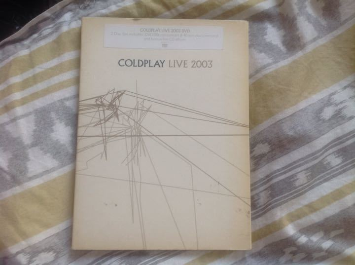 Cold play live cds