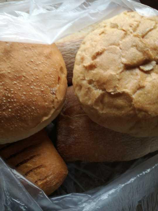 White mixed rolls