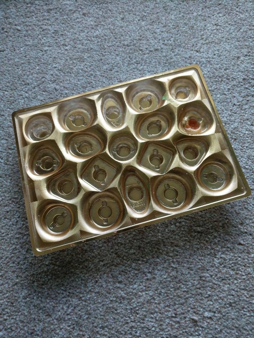 Chocolate box trays