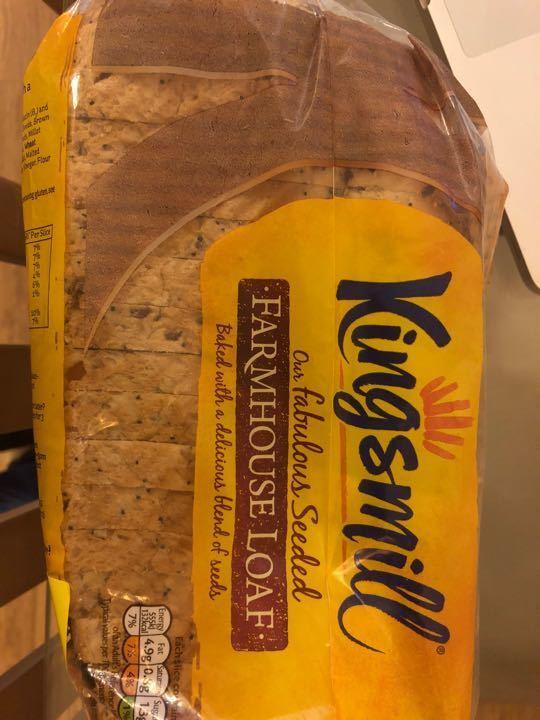 Seeded farmhouse loaf