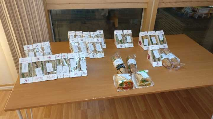 Pret-a-manger sandwiches and baguettes