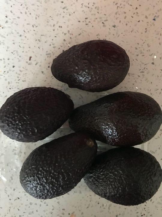 5 avocados