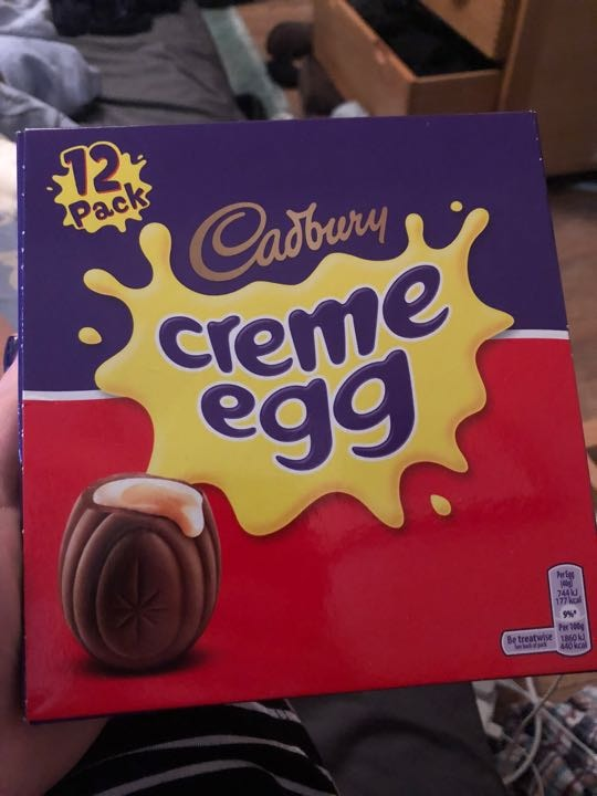 Whole box of creme eggs (best before:31/07/18)