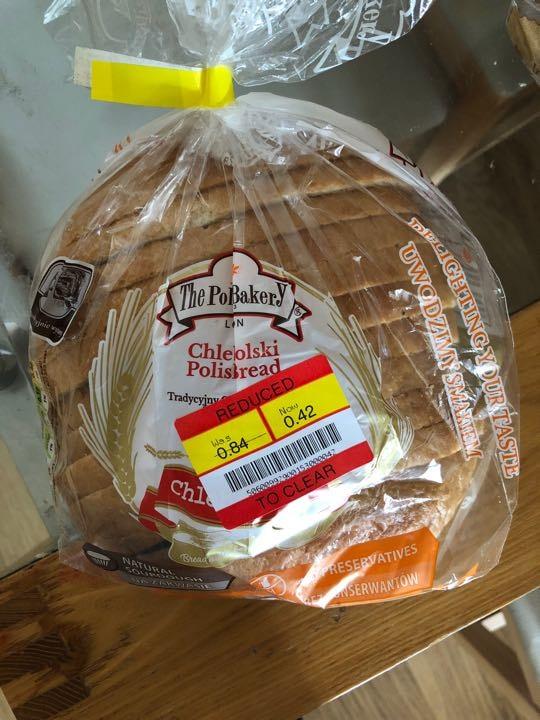 Polish white bread