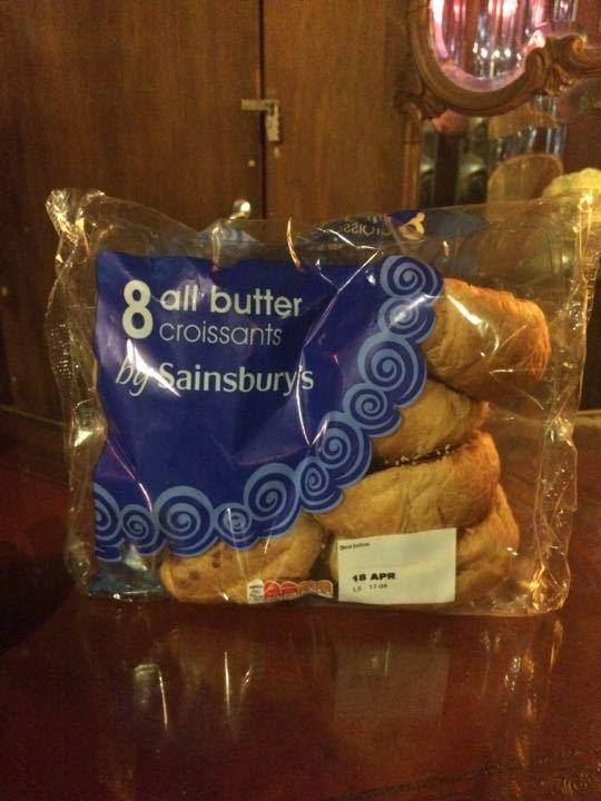 8 butter croissants sainsburys