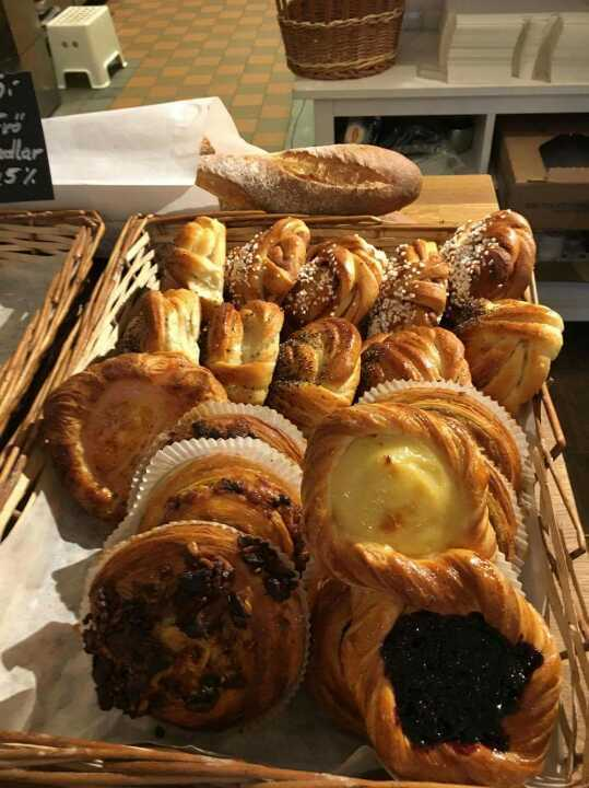 A LOT of pastery