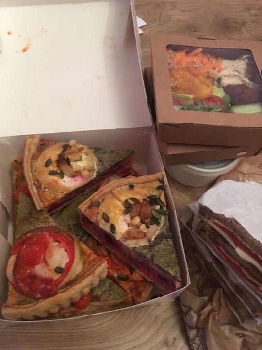Savoury items