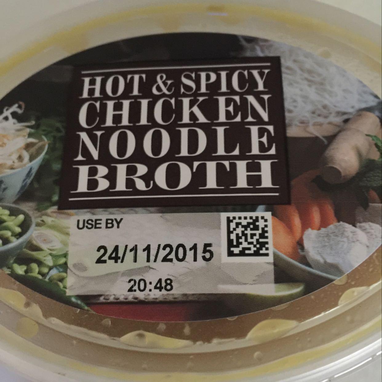 Hot & Spicy Chicken Noodle Broth