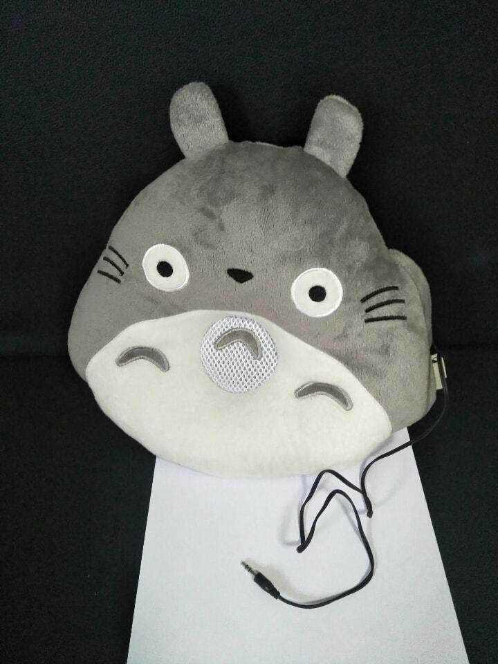 Totoro cushion with speaker