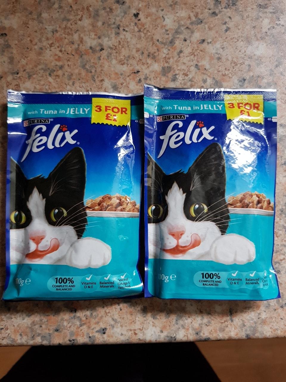 Felix Cat Food x2