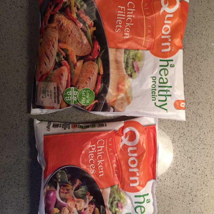 Quorn chicken fillets and chicken pieces- Frozen