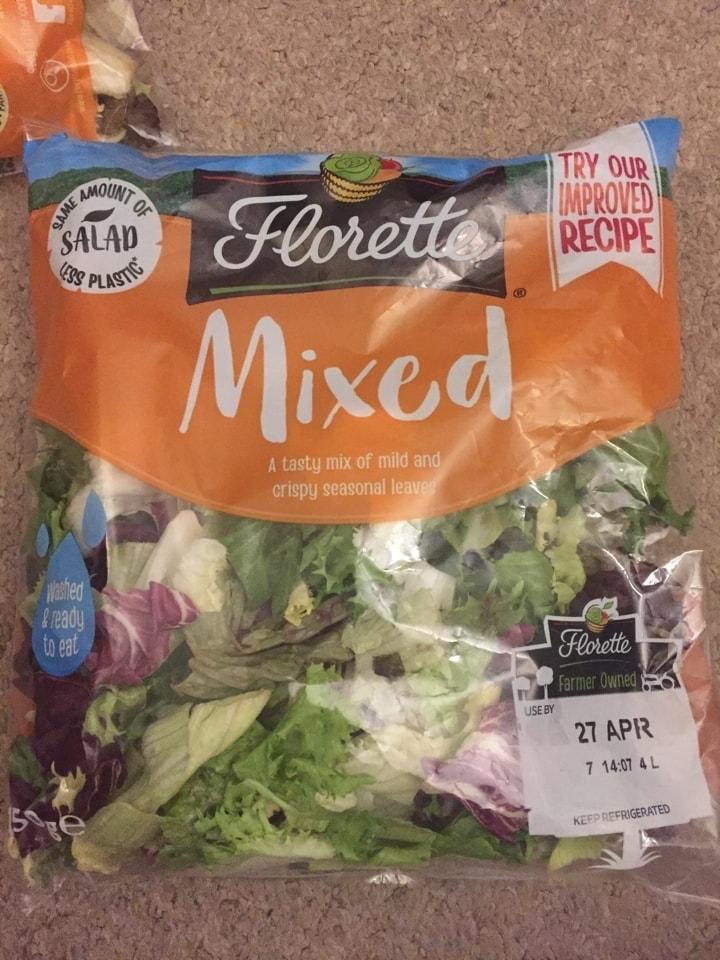 Florette mixed salad leaves
