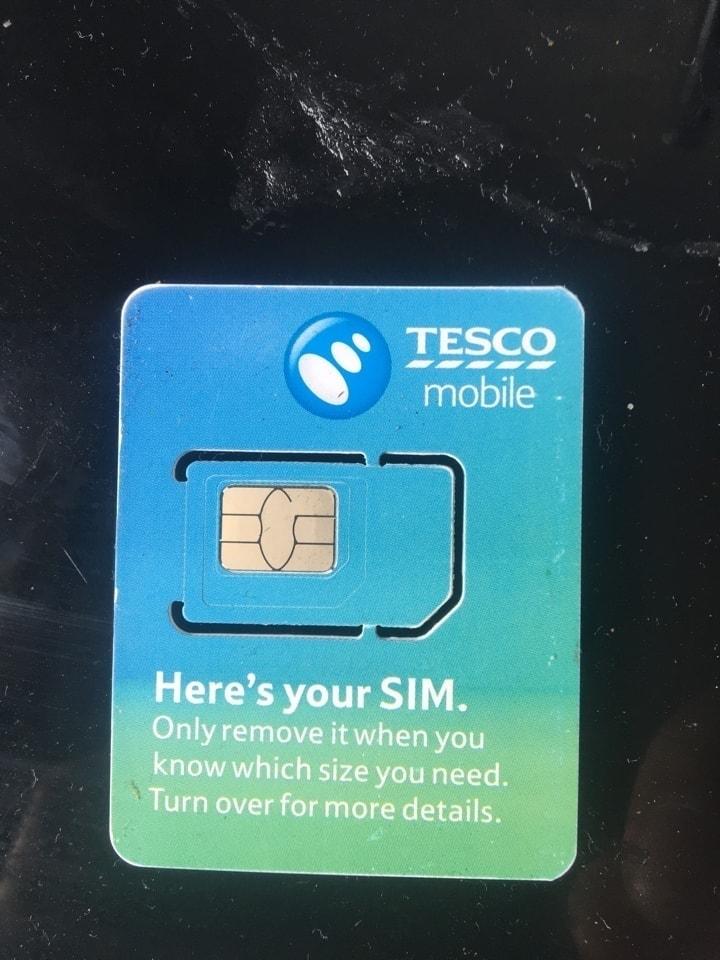 New Sim card