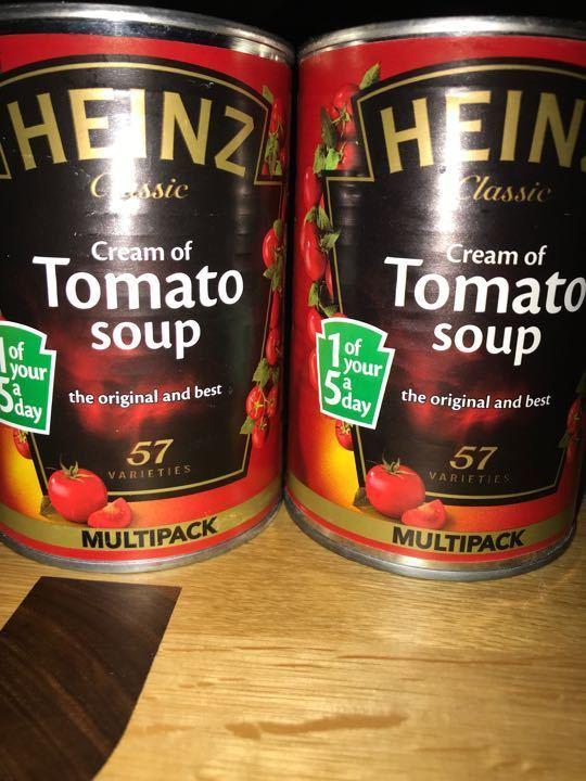 Heinz cream of tomato soup
