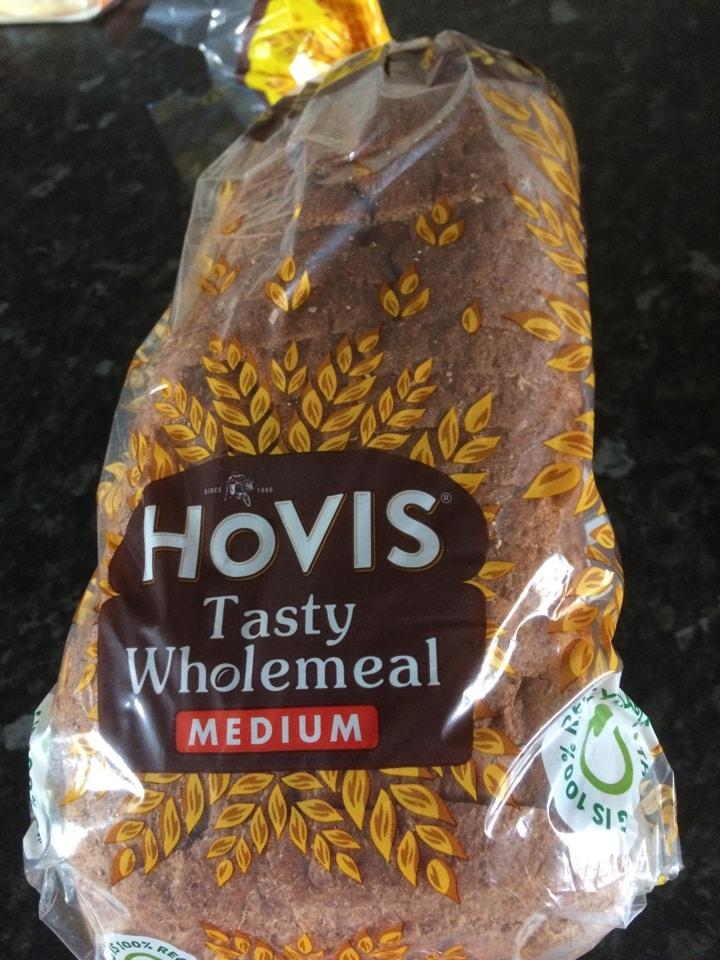 Hovis medium wholeneal loaf (2 available )