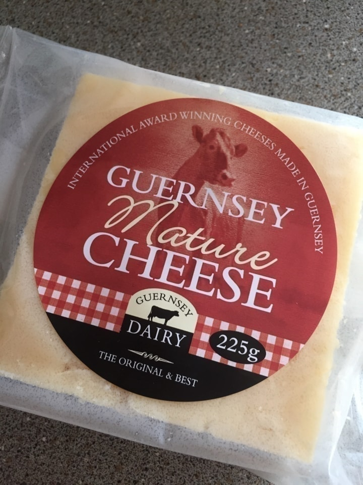 1 BLOCK PER PERSON Guernsey mature cheese