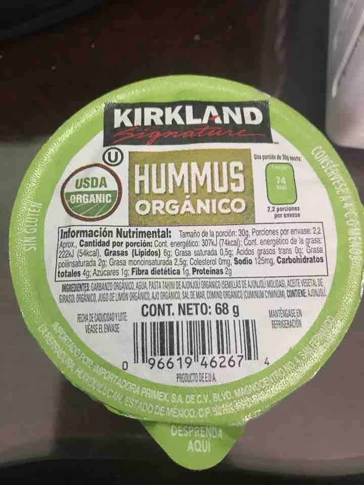 Hummus organico