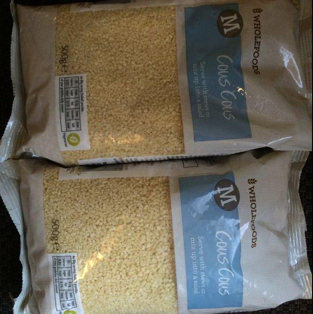 2 x bags couscous