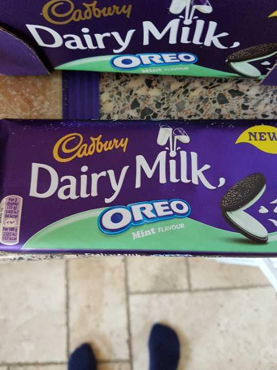Dairy Milk Oreo Mint