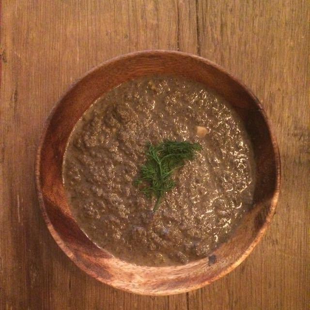 Mushroom soup...