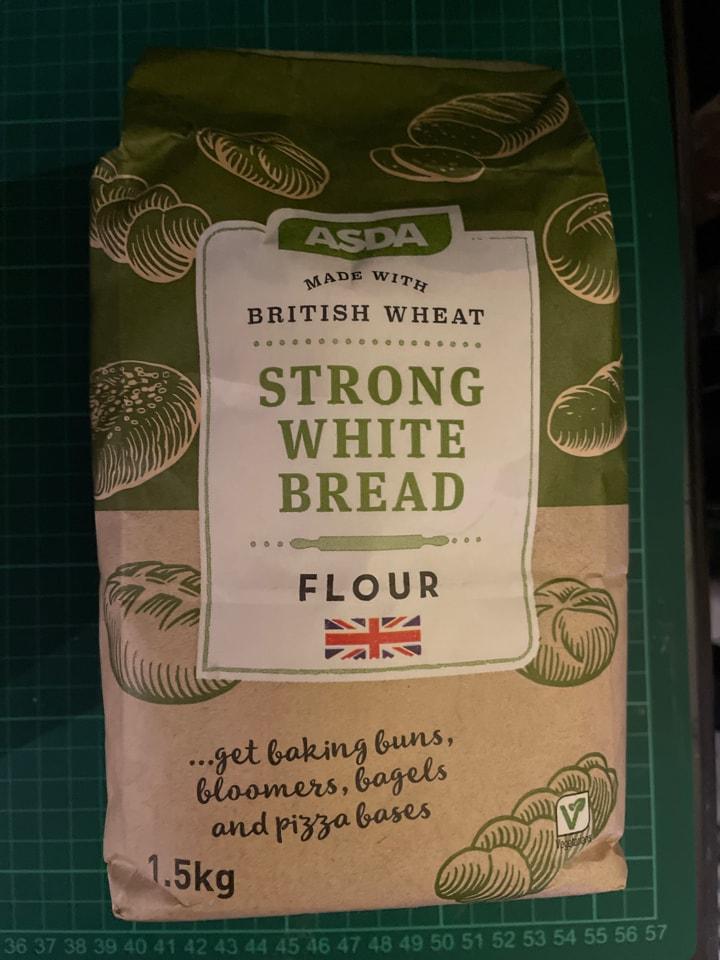 Open pack flour
