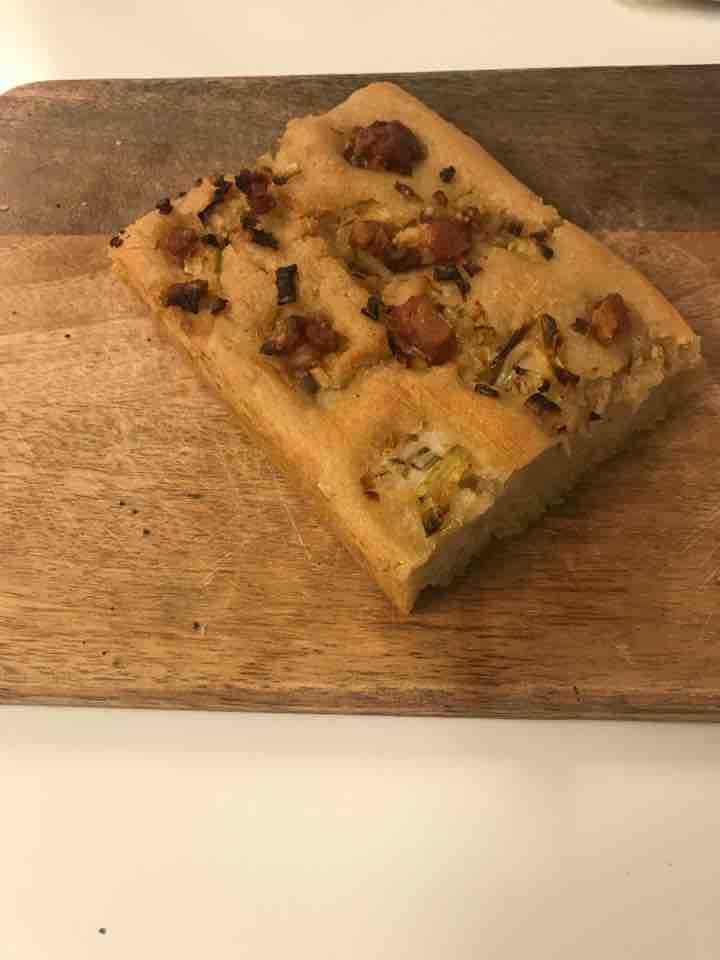 Fresh glutenfree focaccia (bacon) from Happy Atelier (13/04)