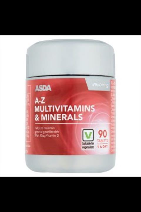 Multivitamins wanted