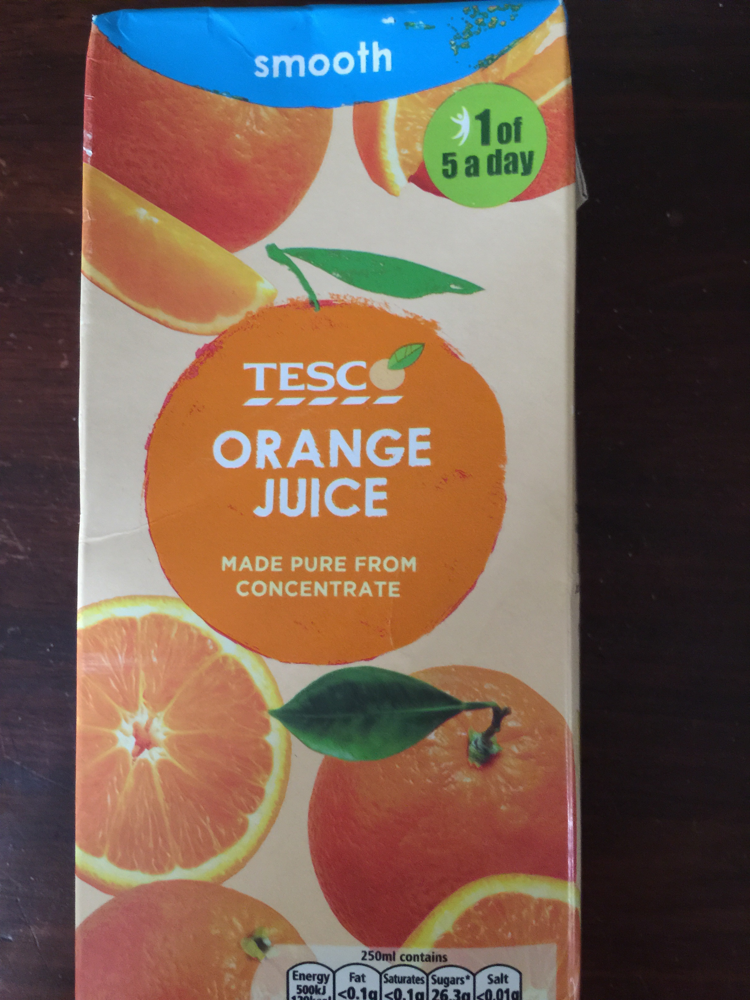 Tesco Pure Orange Juice