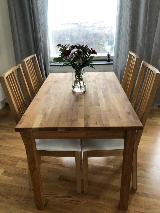 Giving away table + chairs